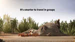 It's smarter to travel in groups